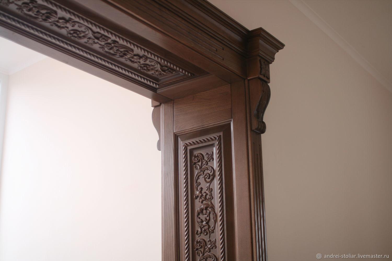 Декор дверной двери своими руками 366