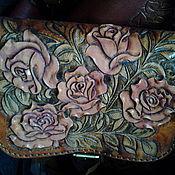 Сумки и аксессуары ручной работы. Ярмарка Мастеров - ручная работа розовый букет. Handmade.