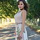 """Платья ручной работы. Заказать Вязаное платье """"Роза Палая"""". Stela Style. Ярмарка Мастеров. Нежность, гармония, хороший подарок"""