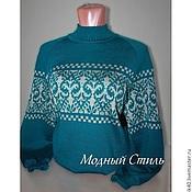 """Одежда ручной работы. Ярмарка Мастеров - ручная работа Кофта """"Лилия"""". Handmade."""