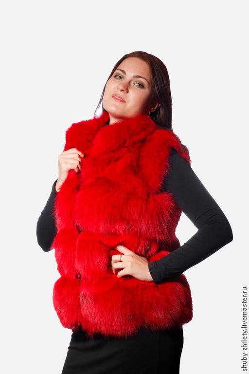 Vest made of Fox fur, Vests, Nizhny Novgorod,  Фото №1