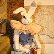 Куклы и игрушки handmade. Livemaster - original item Rabbit Frederick, (cold porcelain FLUMO) handmade.. Handmade.