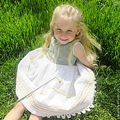 """Работы для детей, ручной работы. Ярмарка Мастеров - ручная работа Платье для девочки """"Весна"""". Handmade."""