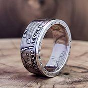 Украшения handmade. Livemaster - original item The ring of coins 1 rouble 1979