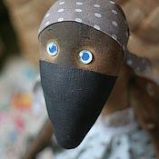 Куклы и игрушки ручной работы. Ярмарка Мастеров - ручная работа ворона Карла. Handmade.