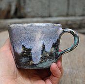 Посуда ручной работы. Ярмарка Мастеров - ручная работа Необычная кружка для кофе. Handmade.