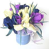 Подарки к праздникам ручной работы. Ярмарка Мастеров - ручная работа Букет из конфет Все дело в шляпе))). Handmade.