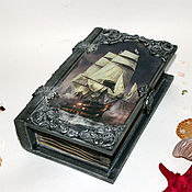 Для дома и интерьера handmade. Livemaster - original item Folio casket Fair wind. Handmade.
