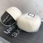 Материалы для творчества handmade. Livemaster - original item Yarn: Lana Gatto Silk Moher. Handmade.