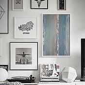 Картины и панно ручной работы. Ярмарка Мастеров - ручная работа Pastel. Абстрактная картина современная подарок новый год купить. Handmade.