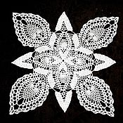 """Для дома и интерьера ручной работы. Ярмарка Мастеров - ручная работа Салфетка """"Роза ветров"""". Handmade."""