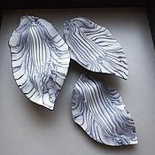Для дома и интерьера handmade. Livemaster - original item Leaves Nerikomi. Handmade.
