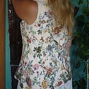 """Одежда ручной работы. Ярмарка Мастеров - ручная работа Жилет """" Райский сад"""". Handmade."""