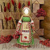 Народная кукла ручной работы. Ярмарка Мастеров - ручная работа Кукла-оберег Рябинка. Handmade.