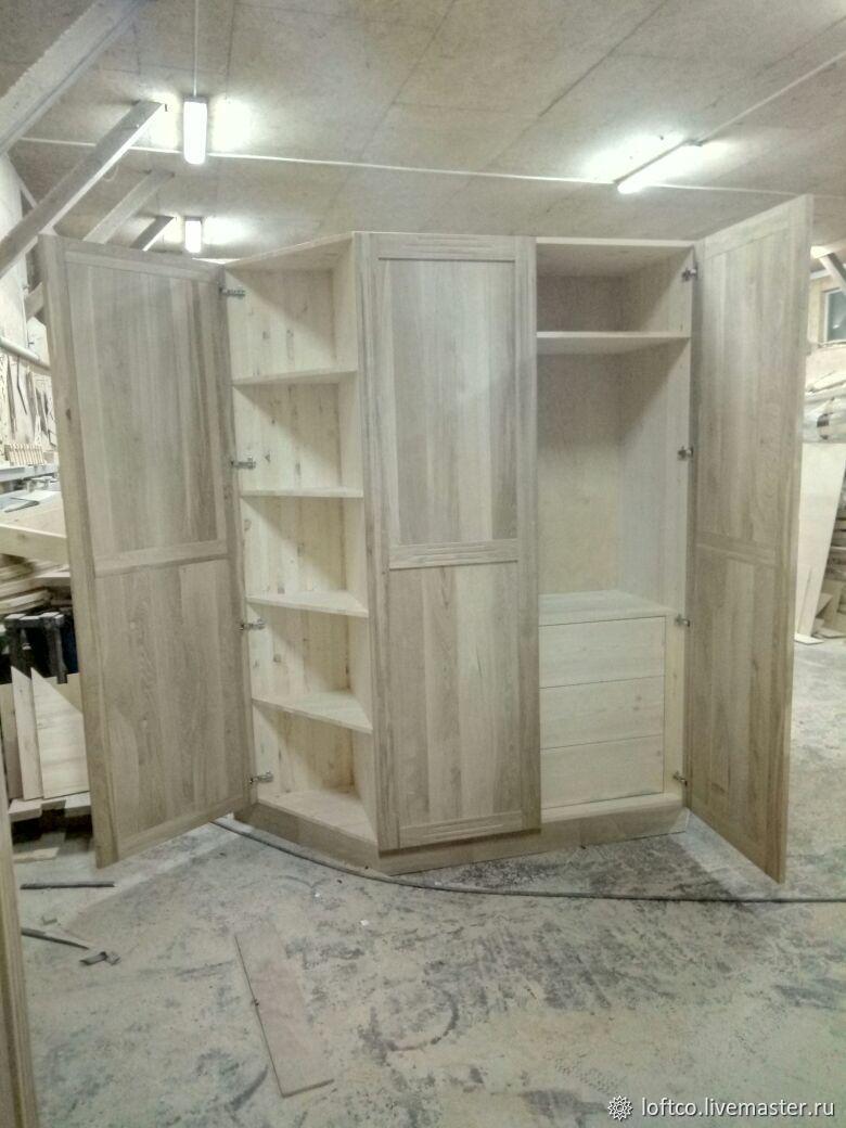 Шкаф деревянный на заказ. Дуб, Шкафы, Лыткарино, Фото №1