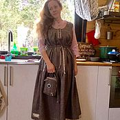 "Одежда handmade. Livemaster - original item Costume boho"" Winter cherry"". Handmade."