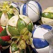 Подарки к праздникам ручной работы. Ярмарка Мастеров - ручная работа Новогодние шары Кимекоми. Handmade.