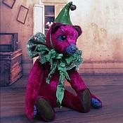 Куклы и игрушки ручной работы. Ярмарка Мастеров - ручная работа Цветочек...Мишка тедди 24см. Handmade.