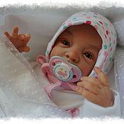 Куклы и игрушки ручной работы. Ярмарка Мастеров - ручная работа Кукла реборн Lindea (Линдия) от Gudrun Legler. Handmade.