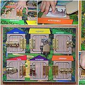 Куклы и игрушки handmade. Livemaster - original item Board with locks
