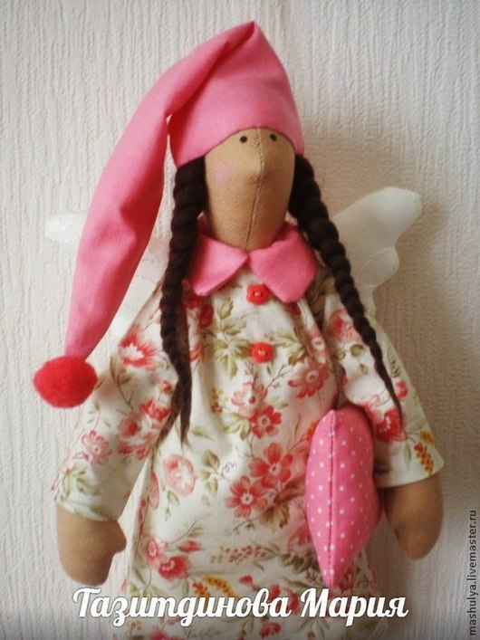 Куклы Тильды ручной работы. Ярмарка Мастеров - ручная работа. Купить Тильда сонный ангел. Handmade. Тильда сплюшка, сплюшкин
