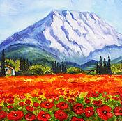 Картины и панно handmade. Livemaster - original item Mountains and maquis. Handmade.