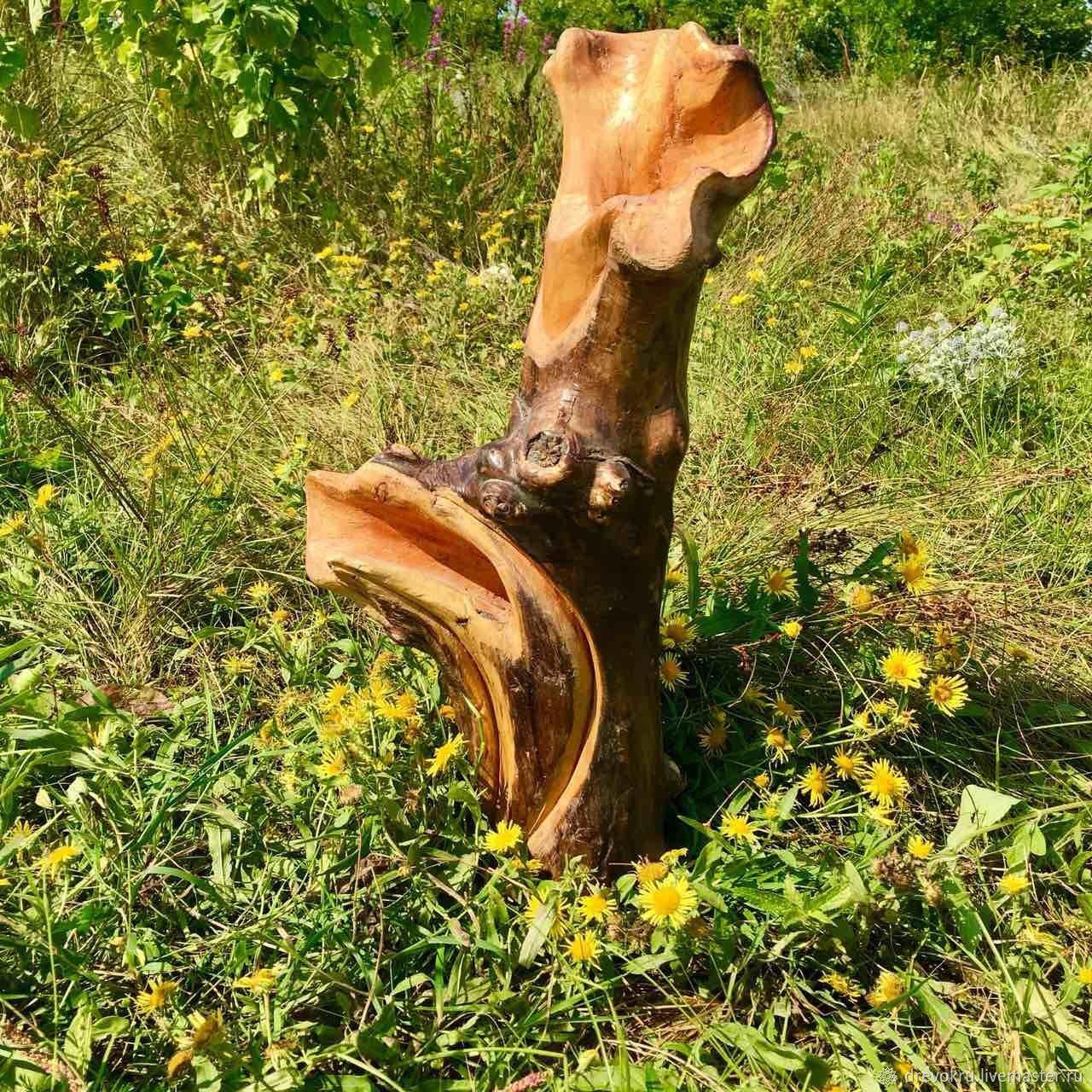 Ваза деревянная «Чудо Лесное»