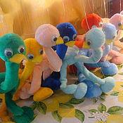 Куклы и игрушки ручной работы. Ярмарка Мастеров - ручная работа Марионетка Страусенок. Handmade.