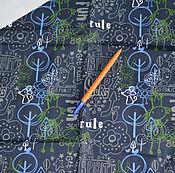 Материалы для творчества ручной работы. Ярмарка Мастеров - ручная работа Плащевка Rule отрез 1,5м +компаньон 0,7м. Handmade.