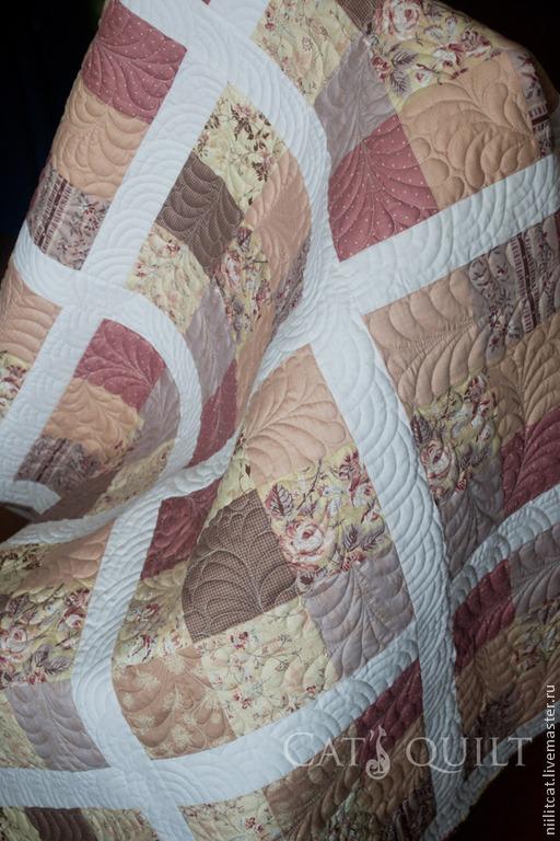 """Детская ручной работы. Ярмарка Мастеров - ручная работа. Купить Детское одеяло """" Осенний теплый день"""". Handmade."""