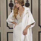 Coats handmade. Livemaster - original item Wedding coat, Bridal jacket, Bridal coat, Wedding jacket, Esperanso. Handmade.
