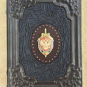Подарки к праздникам handmade. Livemaster - original item Leather-bound SMERSH. Handmade.