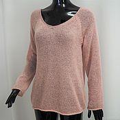 Одежда handmade. Livemaster - original item Sweater mohair pink. Handmade.