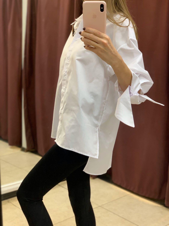 Рубашка из хлопка, Блузки, Вологда,  Фото №1