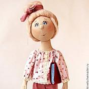 Куклы и игрушки ручной работы. Ярмарка Мастеров - ручная работа Мила. Текстильная коллекционная кукла.. Handmade.
