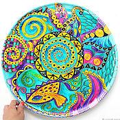 Посуда handmade. Livemaster - original item Large mandala