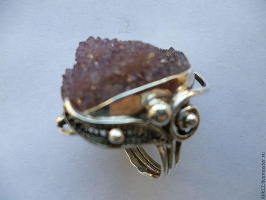 """Кольца ручной работы. Ярмарка Мастеров - ручная работа. Купить кольцо""""Сиреневая нежность"""" авторская работа художника. Handmade. Бледно-сиреневый"""