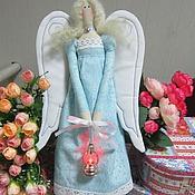 Куклы и игрушки ручной работы. Ярмарка Мастеров - ручная работа Винтажные ангелы Тильда. Handmade.