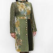 """Одежда ручной работы. Ярмарка Мастеров - ручная работа Пальто """"Зеленая мечта"""". Handmade."""