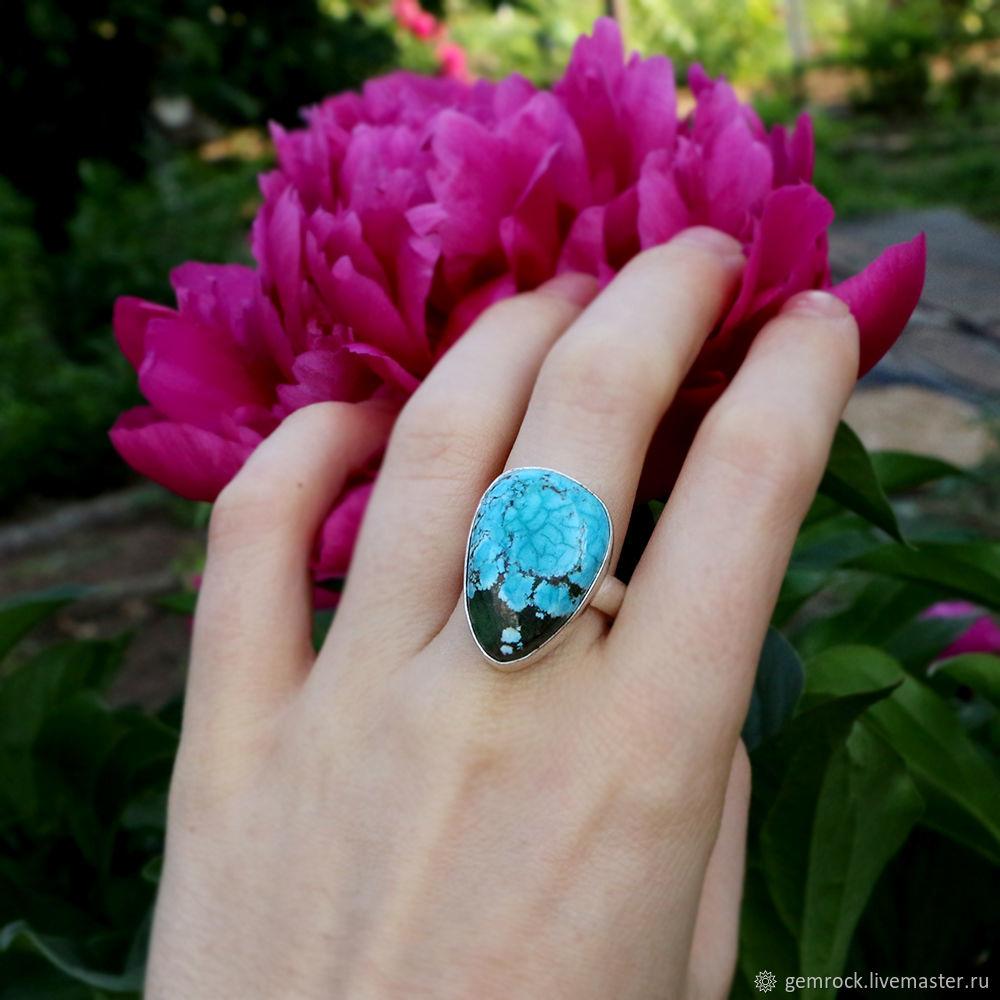 Хризоколла. Кольцо с хризоколлой, Кольца, Оренбург,  Фото №1