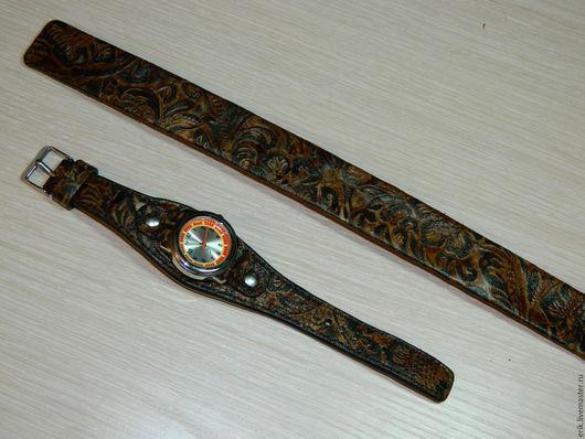 Часы ручной работы. Ярмарка Мастеров - ручная работа. Купить ЧАСЫ. Handmade. Комбинированный, подарок на день рождения