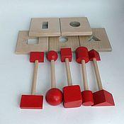 Куклы и игрушки handmade. Livemaster - original item Puzzle wood Locksmith. Handmade.
