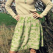 """Одежда ручной работы. Ярмарка Мастеров - ручная работа Вязаная юбочка """" Ключики """". Handmade."""