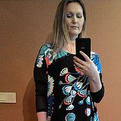 Одежда ручной работы. Ярмарка Мастеров - ручная работа Платье из вискозы. Handmade.