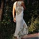 """Платья ручной работы. Заказать Платье """"Цветение. Утро"""". Belisama Felt. Ярмарка Мастеров. Ирландское кружево, свадебное платье"""