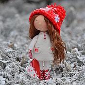 Куклы и игрушки ручной работы. Ярмарка Мастеров - ручная работа Новогодняя Гномочка. Handmade.