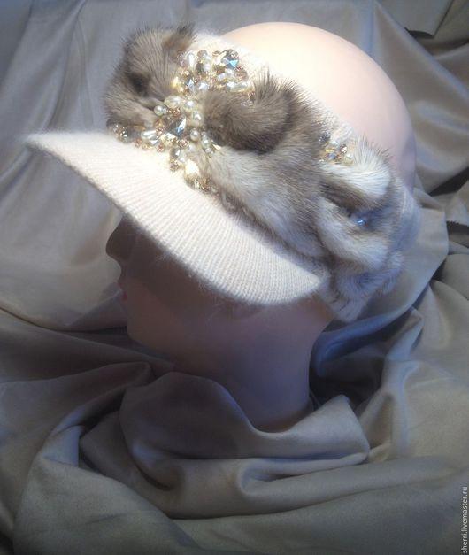"""Повязки ручной работы. Ярмарка Мастеров - ручная работа. Купить Повязка на голову """"Мечта"""". Handmade. Бежевый, дизайнерские украшения"""