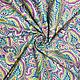 Шитье ручной работы. Ярмарка Мастеров - ручная работа. Купить Американский хлопок РУССКИЕ УЗОРЫ  - пейсли разноцветный. Handmade.