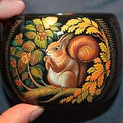 Украшения handmade. Livemaster - original item lacquer the bracelet with the author`s painting