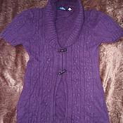Винтаж handmade. Livemaster - original item Cardigan with short sleeves,size 40-42,vintage Germany. Handmade.